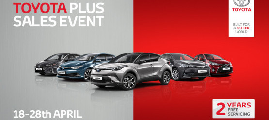 Carroll & Kinsella Blackrock Toyota Plus Sales Event
